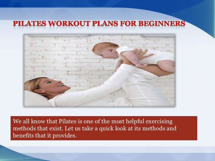 Pilates Workout Plans for Beginners