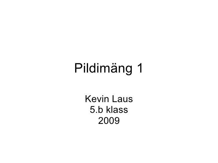 Pildimäng 1 Kevin Laus 5.b klass 2009