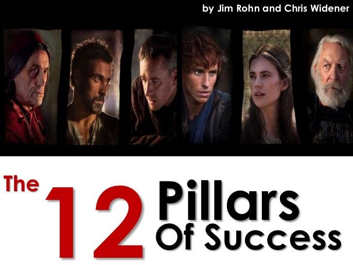 by Jim Rohn and Chris Widener  12   PillarsThe       Of Success