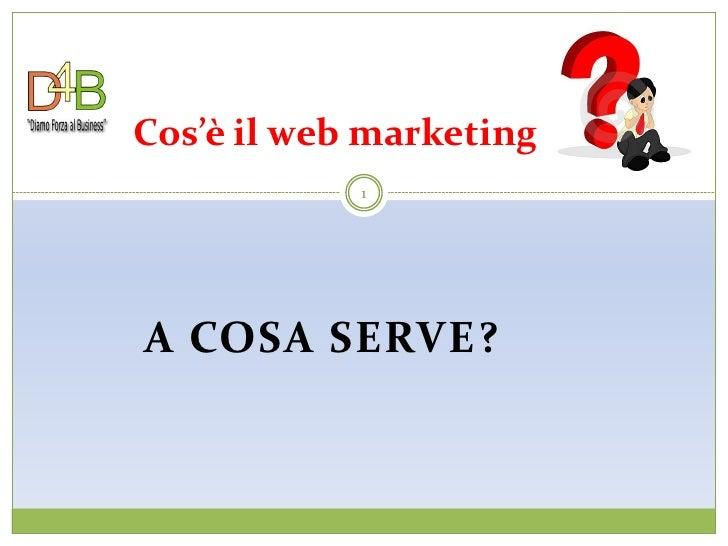 Pillole di Web Marketing 02