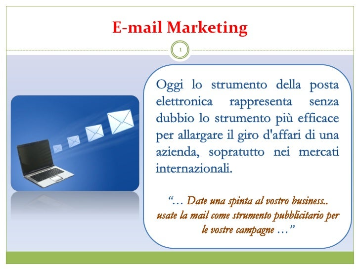 Pillole di web marketing 04(emailmarketing)