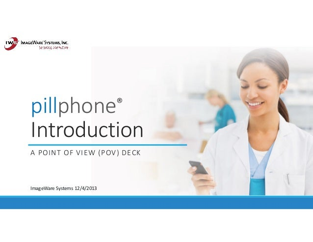pillphone: enterprise mobile application for medical compliance and patient engagement