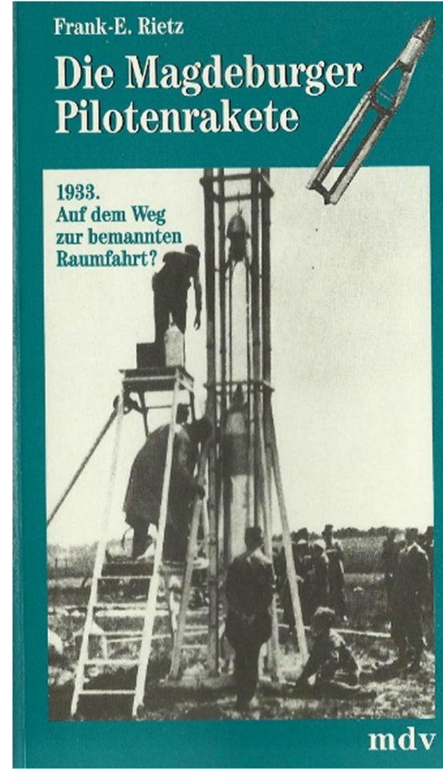 Die Magdeburger Pilotenrakete