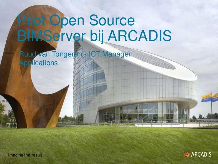 Pilot open source bim server bij arcadis