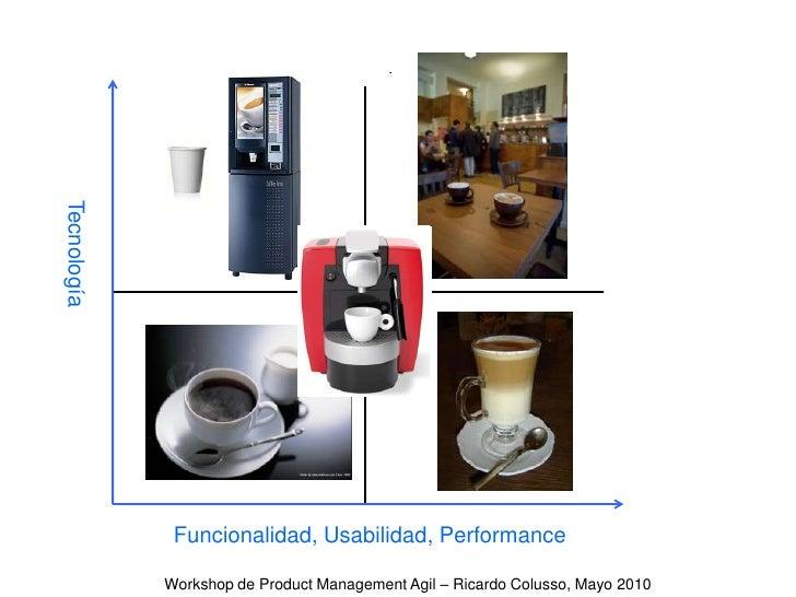 Tecnología<br />Funcionalidad, Usabilidad, Performance<br />Workshop de Product Management Agil – Ricardo Colusso, Mayo 20...