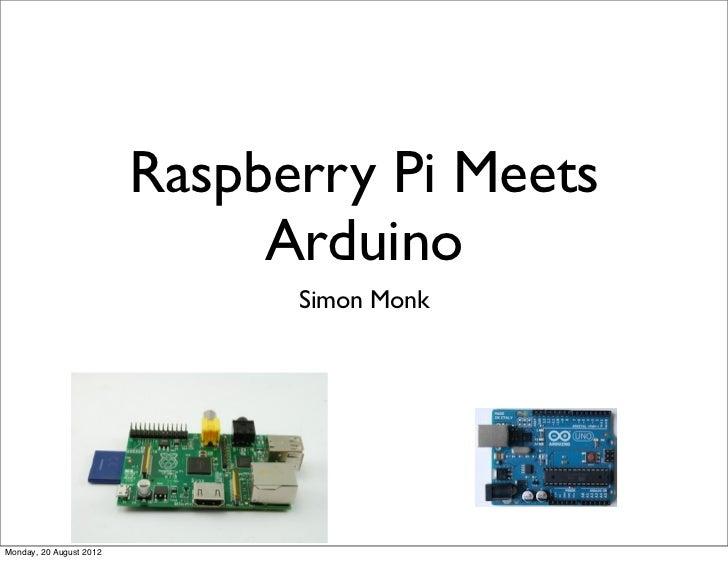 Pi meets arduino