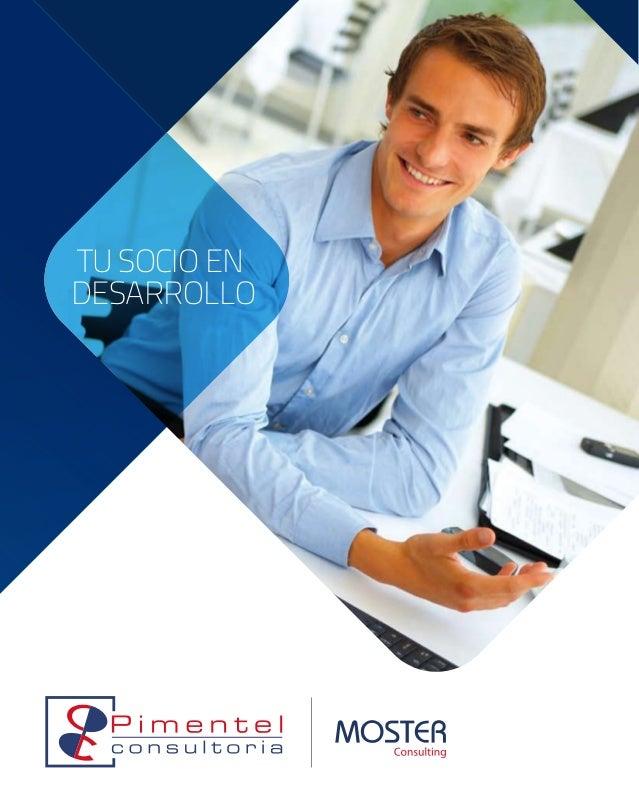 Pimentel Consultoria y Moster Consulting. tu socio en desarrollo