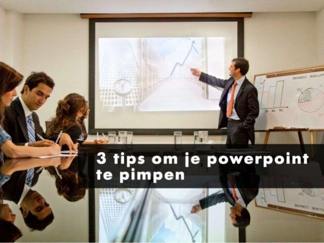Pimp je powerpoint presentatie