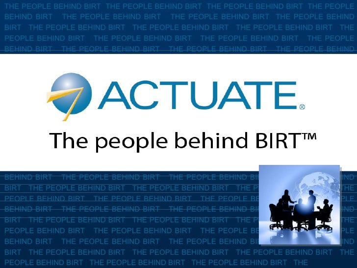 THE PEOPLE BEHIND BIRT  THE PEOPLE BEHIND BIRT  THE PEOPLE BEHIND BIRT  THE PEOPLE BEHIND BIRT  THE PEOPLE BEHIND BIRT  TH...