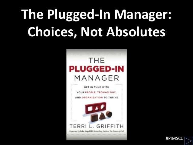 Plugged-In Management @ SCU