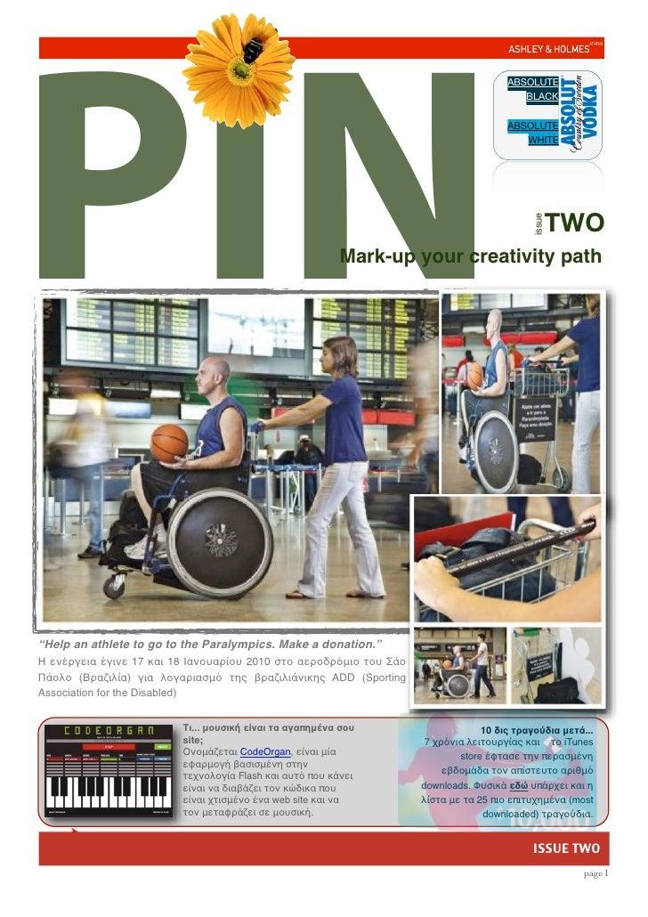 Pin 2 edition