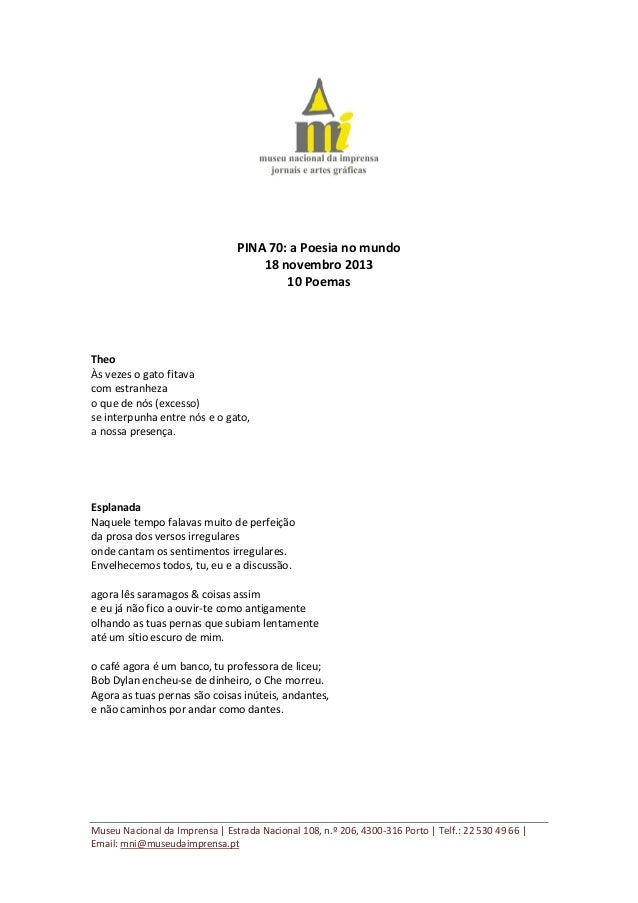 Pina 70 a poesia_nomundo