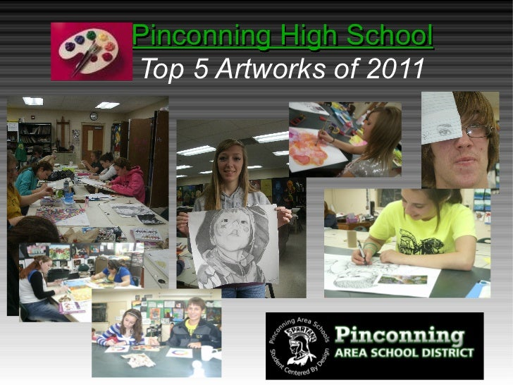 Pinconning High School Top 5 Artworks of 2011