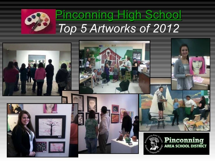 Pinconning High SchoolTop 5 Artworks of 2012