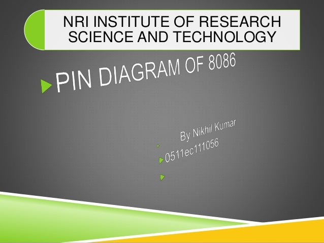 Pin Diagram Of 8086 Microprocessor