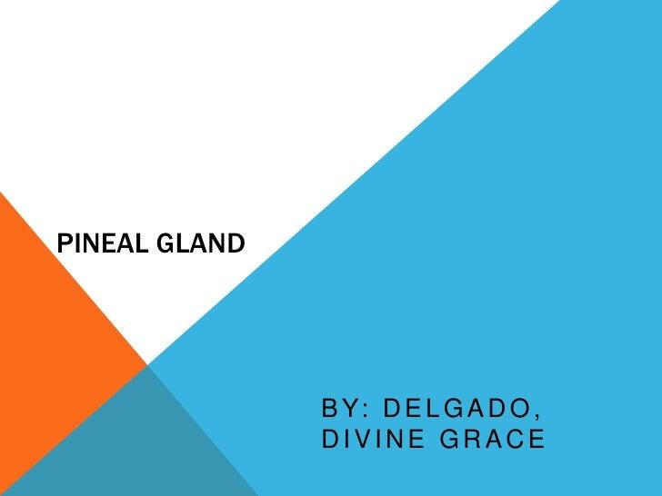 PINEAL GLAND<br />by: Delgado, Divine Grace<br />