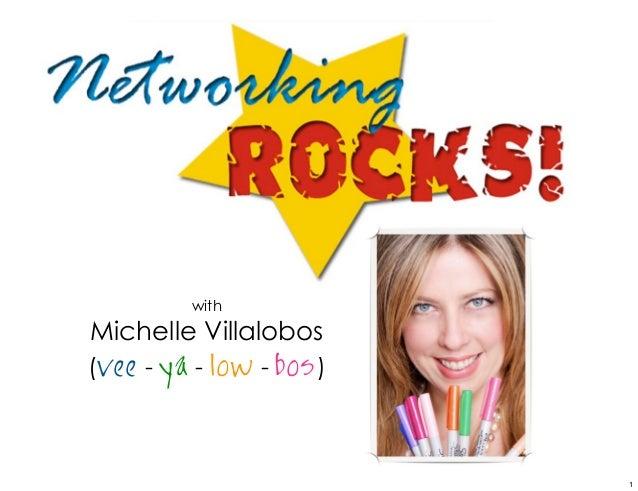 withMichelle Villalobos(vee - ya - low - bos )                          1