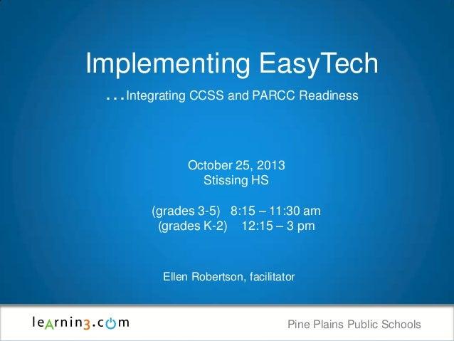 Pine Plains EasyTech