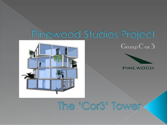    We were tasked with creating an office block for    Pinewood Studios. We had a few initial ideas, but    eventually de...