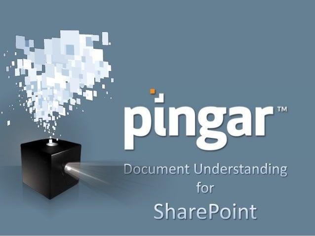 Pingar App for SharePoint