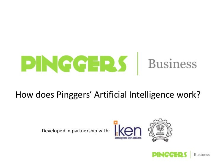 How Pinggers Business Artificial Intelligence Works.