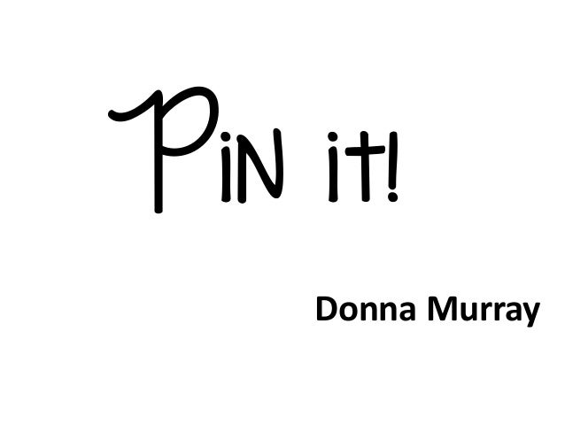 Pin it with fonts