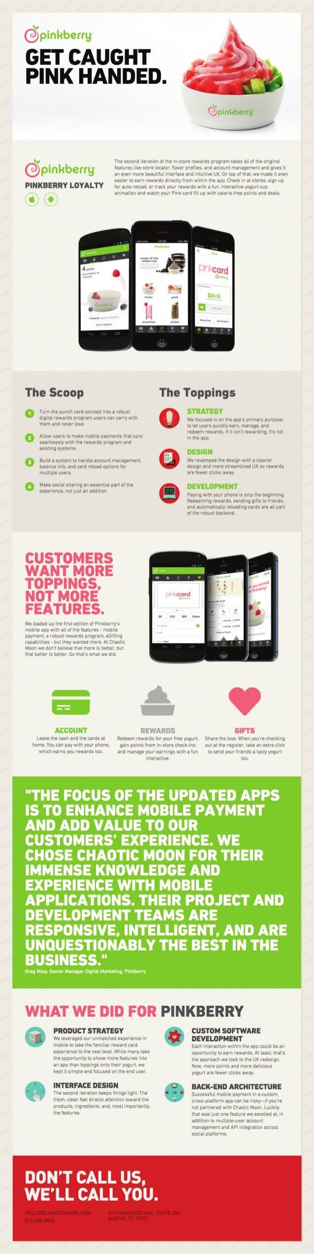 Mobile Loyalty: Pinkberry's Sweet Rewards