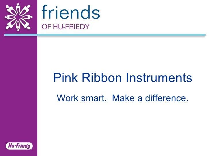 Pink Ribbon Instruments