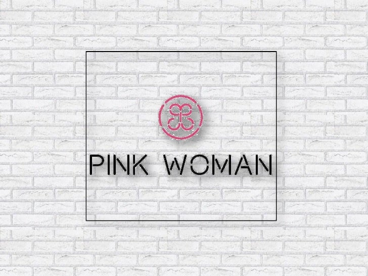 Pink Woman Concept (Franchise Ppt)