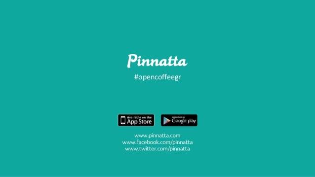 Marketing tips by Pinnatta @Open Coffee Greece