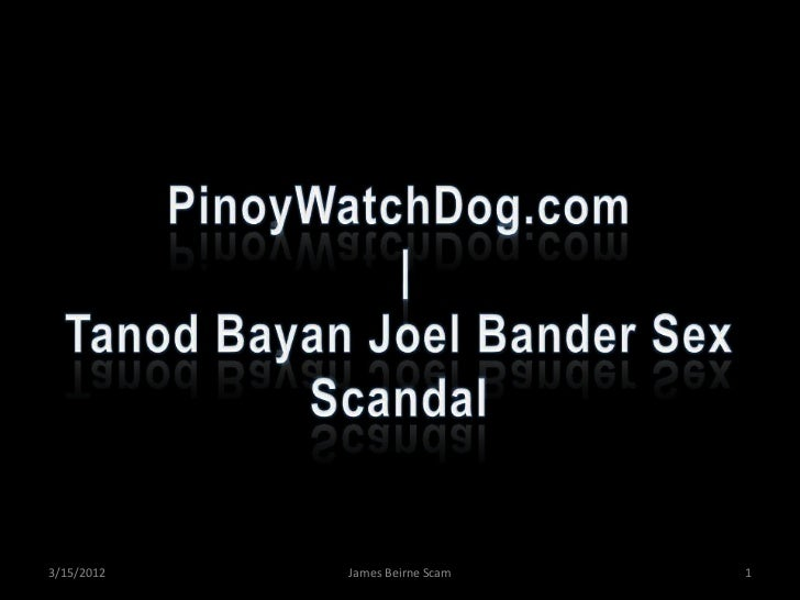 PinoyWatchDog.com | Tanod Bayan Joel Bander Sex Scandal