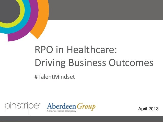 RPO in Healthcare: Driving Business Outcomes