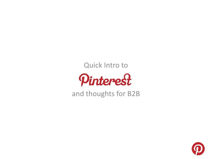 Another slide deck on Pinterest