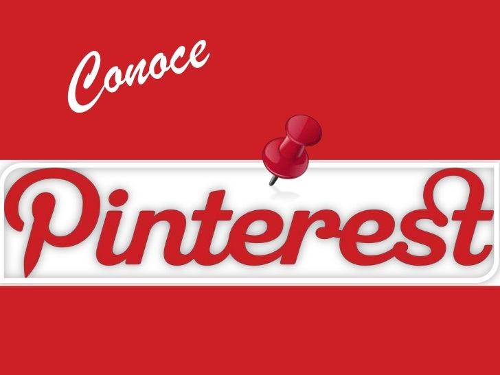 Conoce Pinterest