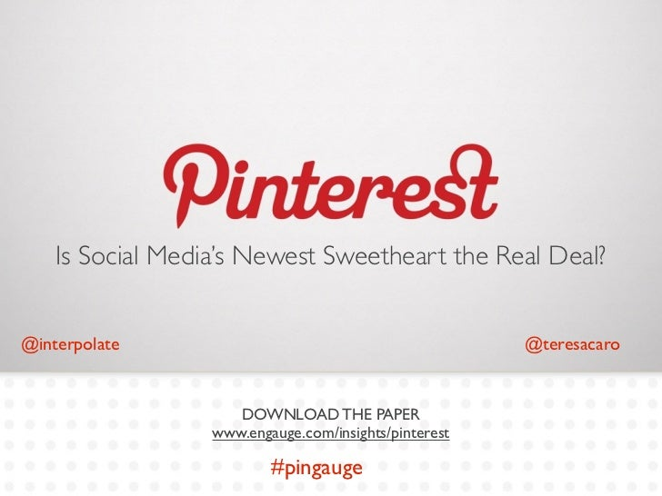 Is Social Media's Newest Sweetheart the Real Deal?@interpolate                                           @teresacaro      ...