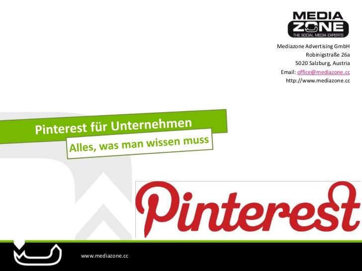 Pinterest für Unternehmen - Alles, was man wissen muss