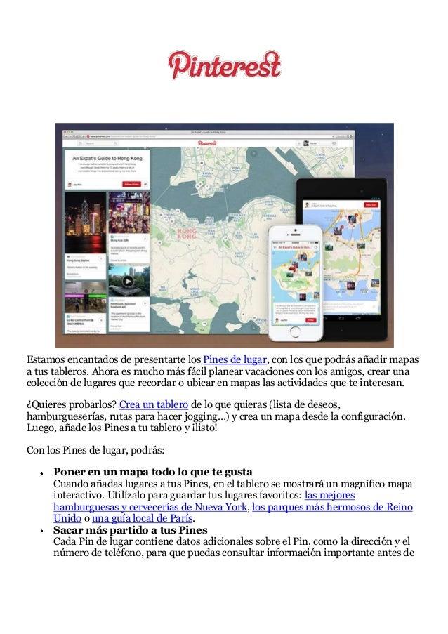 Mapas en #Pinterest