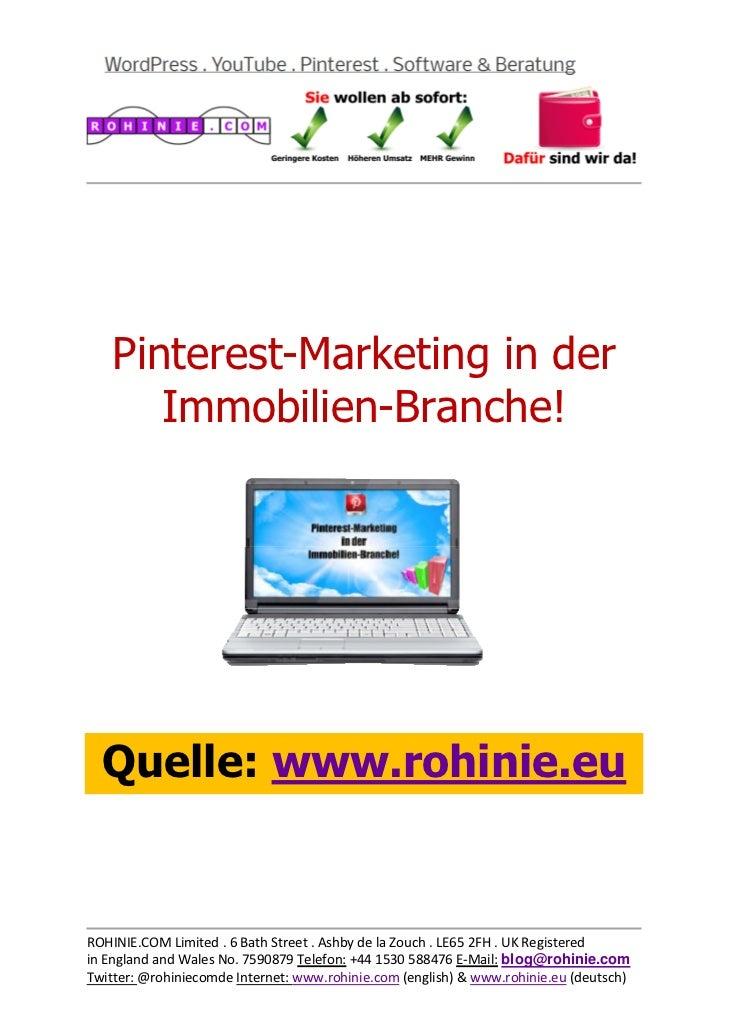 Pinterest-Marketing in de...