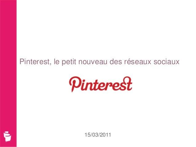 Pinterest _ Mars 2012