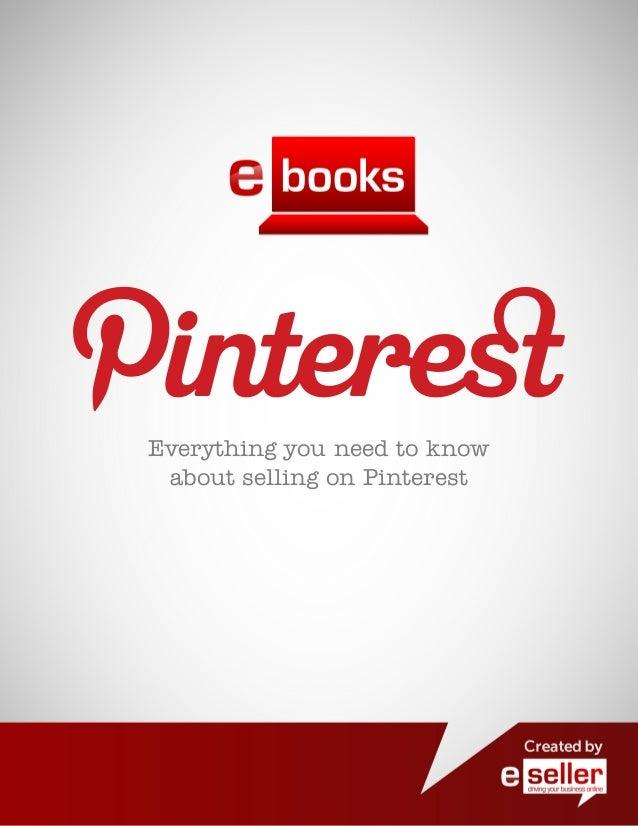 Pinterest Retail Eseller Guide 2012