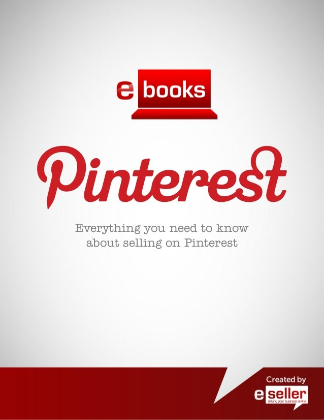 Pinterest Retail Eseller Guide 2012