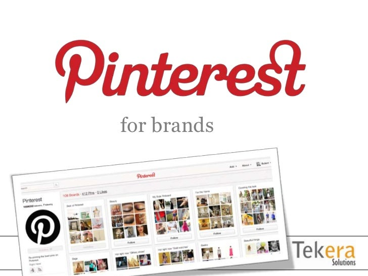 Pinterest tekera solutions