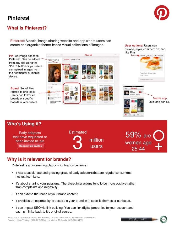 Pinterest: A Quickstart Guide for Brands