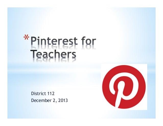 Pinterest dist 112 dec 2013