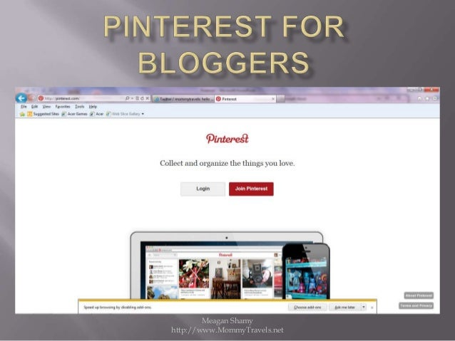 Pinterest How To for Bloggers