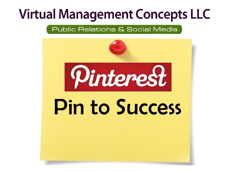 Pinterest Pin to Success
