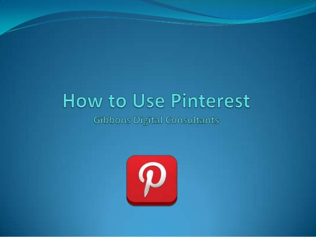 Topics  Background  What is Pinterest  Stats and the Buzz   Getting Started  How to use it  Wrap-up  2