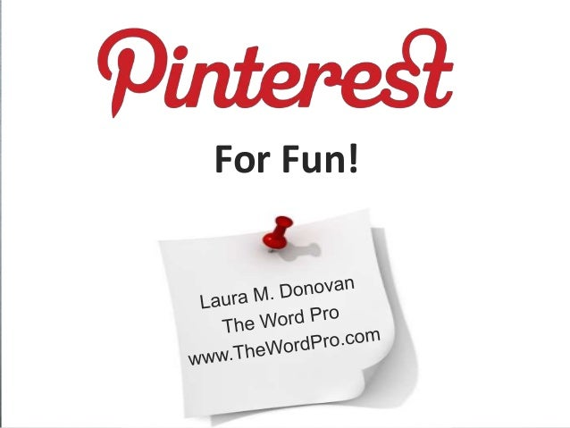 Pinterest for Fun