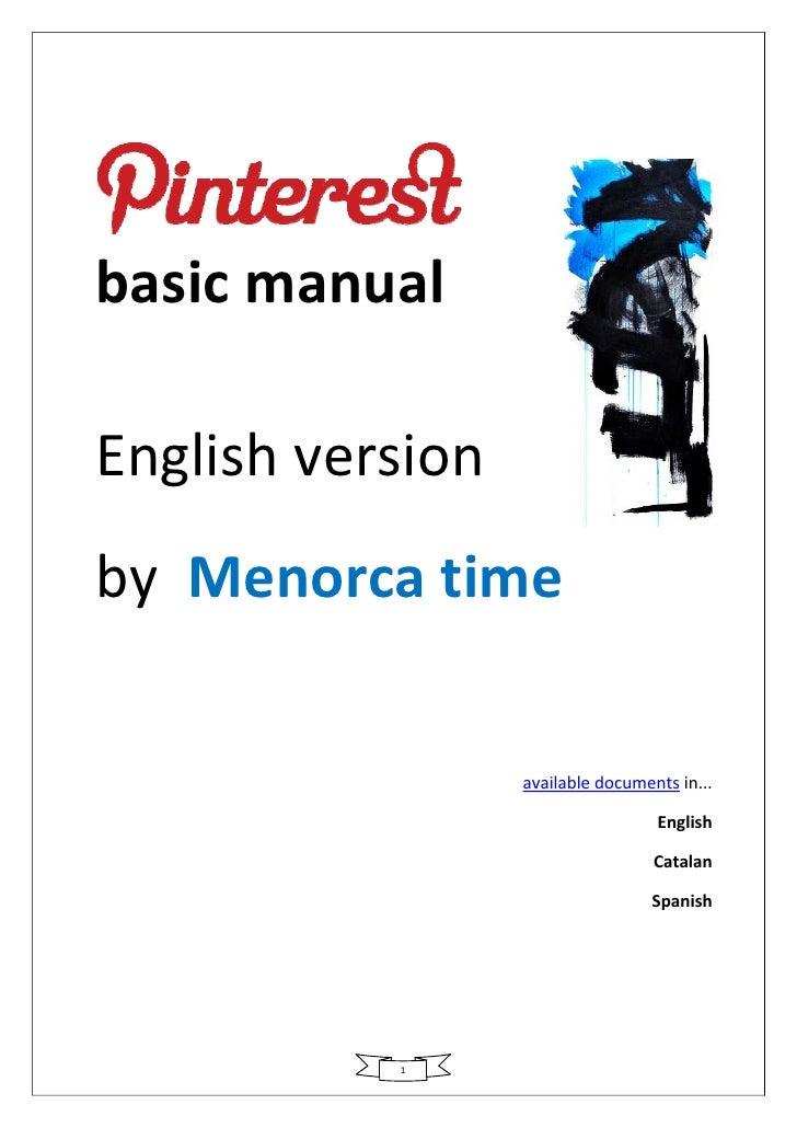 basic manual          English version    by  Menorca time                           available...