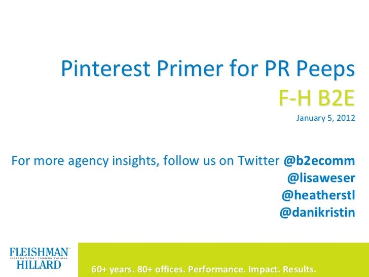 A Pinterest Primer for PR Peeps